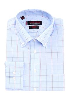 Chester By Chester Barrie. Plaid Pattern Dress Shirt by Chester By Chester Barrie. on @nordstrom_rack