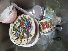 Today, I'm thankful for a sink full of dirty dishes. Check out today's post on giving thanks. :)
