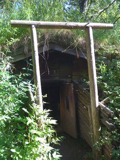 Underground sauna, Muurame Sauna Museum Diy Sauna, Finnish Sauna, Sauna Room, Root Cellar, Best Cleaning Products, Hobbit Hole, Saunas, Old Windows, Summer Dream