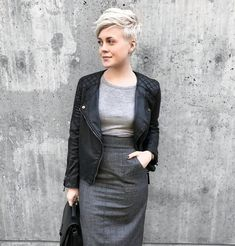 street style pixie hair - Google Search