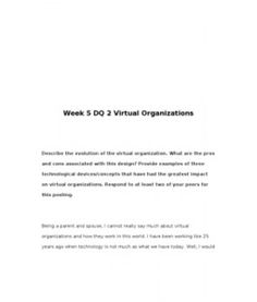 What are the pros and cons associated with the evolution of the virtual organization?