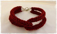 Armband aus der Strickliesel von itzelines-things auf DaWanda.com