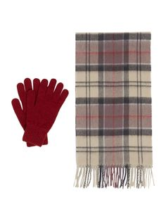 Barbour Scarf and Glove Gift Set Gloves Pattern Women Cotton House Of Fraser, Secret Santa, Gift Guide, Merry, Just For You, Scarfs, Glove, Gifts