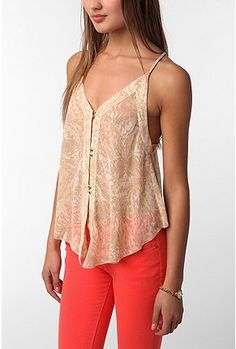 Dolce Vita Juna Cami,  Great for those summer parties Inever get to go to!!