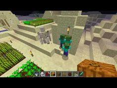 Minecraft en musique | Golem troll, zombies veut bouffer PNJ