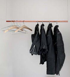 65 Ideas For Clothes Hanger Diy Hanging Racks Wardrobes