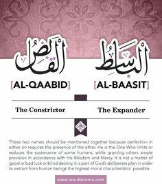 Beautiful names of Allah....
