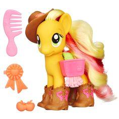 My Little Pony Neon Fashion Style Applejack 10 Accessories   eBay
