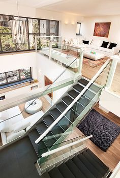 Bright loft interior design