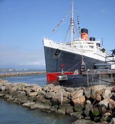 The Queen Mary, Long Beach, CA I loved staying here as a kid
