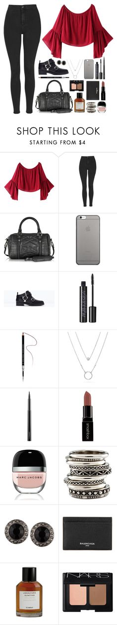 """""""Number 218"""" by charlene-ndy ❤ liked on Polyvore featuring Chicnova Fashion, Topshop, Zadig & Voltaire, Native Union, Zara, Urban Decay, Givenchy, MAC Cosmetics, Smashbox and Marc Jacobs"""
