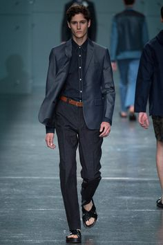 Fendi Spring 2015 Menswear Collection Slideshow on Style.com