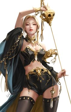 Beautiful Science Fiction, Fantasy and Horror art from all over the world. Character Concept, Character Art, Character Design, Fantasy Girl, Fantasy Characters, Female Characters, Sara Kay, Digital Art Anime, Shield Maiden