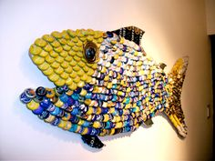 Bottle Cap Fish
