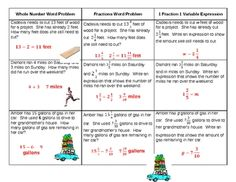math worksheet : fractions word problems task cards  word problems task cards and  : Fraction Word Problem Worksheets For 5th Grade