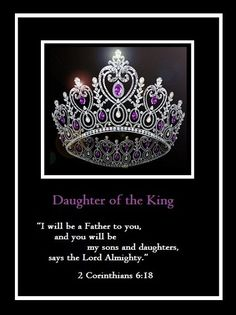 Jesus💕Daughter of the Most High Daughters Of The King, Daughter Of God, Mother Daughters, King Quotes, Queen Quotes, King Of Kings, My King, Gods Princess, Princess Quotes