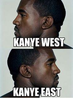 Kanye West. Kanye East.