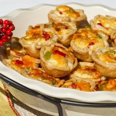 These mini quiches are wonderfully versatile. You can serve them as a party appetizer, or you can serve them at Christmas brunch. Either way, your guests will love them! | Hey Good Cookin