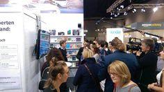 Wir freuen uns über die zahlreichen Besucher an unserem Stand in Halle 3/K32. :D #fbm16 #buchmesse #frankfurt #selfpub