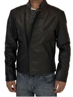 Iron Man Tony Stark Leather Jacket