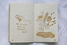 MY SEA - A Small Paper-cut Book by Odding Wang, via Behance