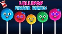 Lollipop Finger Family Song Collection   Top 10 Finger Family Songs  - added by siakateisobelle in Finger Family Songs
