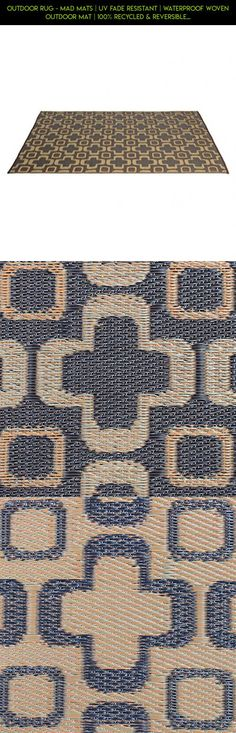 Outdoor Rug - Mad Mats | UV Fade Resistant | Waterproof Woven Outdoor Mat | 100% Recycled & Reversible Polypropylene Plastic Wicker| Non-Slip | Beach Deck & Doormat | Multiple Colors #non #racing #products #fpv #patio #camera #shopping #furniture #slip #parts #plans #tech #technology #drone #gadgets #kit