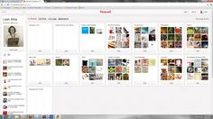 Organizing Pinterest boards