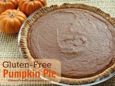 #GlutenFree #DairyFree Pumpkin Pie @gfhomemaker