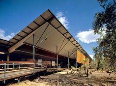 12Centro Bowali para visitantes, Parque Nacional Kakadu, 1993-1999.