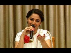 Madhuri Dixit with her FAVOURITE SHAYARI.