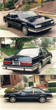 One of the prettiest cars I owned, a 1987 Buick Le Sabre.