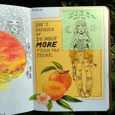 Fabulous Drawing On Creativity Ideas. Captivating Drawing On Creativity Ideas. Arte Sketchbook, Sketchbook Pages, Sketchbook Ideas, Sketch Journal, Art Sketches, Art Drawings, Drawing Art, Posca Marker, Marker Art