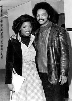 Young Oprah and Jesse Jackson