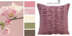 Ash-pink, pale pink in the company of a brown-green tones and tunes to please lyrical mood.