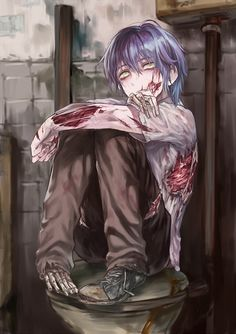 """(Rp?) *I glance up at you and your gun, sighing and laying my head back down* """"Just shoot me already.."""""""