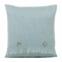 mohair blanket cushion
