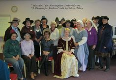 Nottinghamshire Embroiderers Guild ca 2012 Talk  and costumes by Eileen Tilly