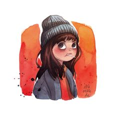 Watercolor Illustrations with Personality by Iraville | ILLUSTRATION AGE