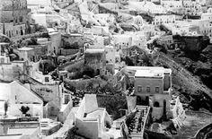 Σαντορίνη 1941 Santorini, Old Photos, Greece, The Past, Black And White, Country, Photography, Travel, Vintage