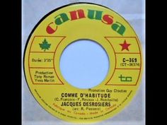 Jacques Desrosiers Comme D'habitude / La Poule........ - YouTube Roman, Funny Songs, Lyrics, Song Lyrics, Music Lyrics