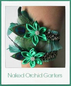 Naked Orchid Garters Refreshing Great Finds