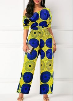 Jumpsuits & Rompers online for sale Plus Zise, Printed Jumpsuit, Ripped Denim, White V Necks, Classy Women, Jumpsuits For Women, African Fashion, Womens Fashion, Diy Fashion