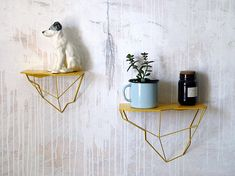 Hey, I found this really awesome Etsy listing at https://www.etsy.com/listing/607028084/crag-shelf-geometric-hanging-shelves