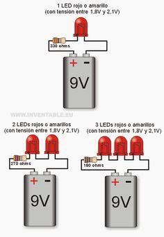 leds a 9v por ejemplos pinterest arduino electrical engineering rh pinterest com