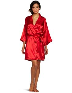 ff49798965 Intimo Women`s Poly Charmeuse Robe