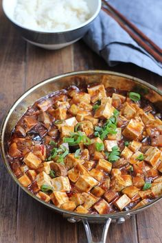 Eggplant Mapo Tofu. Make one of your favorite Chinese food dishes at ...