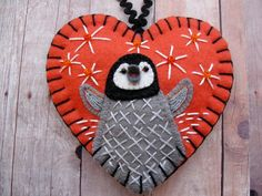 Baby Penguin Ornament by SandhraLee on Etsy, $19.50