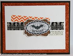 Halloween Card using the Stampin Up Halloween Bash stamp set and other SU products