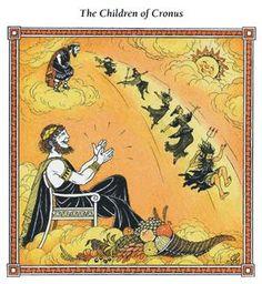 cronus - Αναζήτηση Google Ancient Greece, Greek Mythology, Vintage World Maps, Comic Books, History, Comics, Painting, March, School